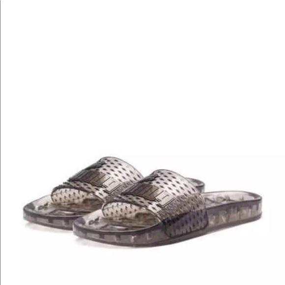 60e38d8d58d3 FENTY PUMA x RIHANNA Jelly Slide Sandals Sz 8.5-9